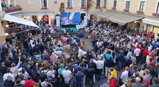 Festa e premiazione in Piazzetta per la Rolex Capri Sailing Week
