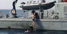 Immagine Cade da nave crociera, salvata dopo 10 ore in mare