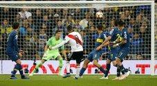 Al River la Libertadores in trasferta: Boca in 9 nel finale, inutile assalto
