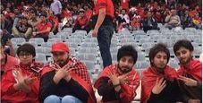 Immagine Iran, arrestate le donne travestite per lo stadio