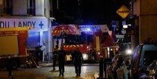 Immagine Incendio in una banlieue: sette feriti gravi