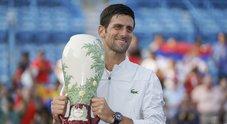 Cincinnati, trionfo Djokovic: battuto Federer in due set