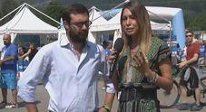Napoli, torna il Mattino a Dimaro: Claudia Mercurio live tra i tifosi