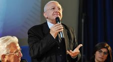 De Luca: «Per le Olimpiadi invernali 1 miliardo dal Coni, alle Universiadi 0»