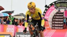 Giro d'Italia, Roglic vince la crono: Nibali quarto, Conti difende la rosa