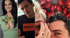 Katy Perry e Orlando Bloom, l'anello di fidanzamento su Instagram