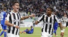 Juve, successo in rimonta: 3-1 al Bologna. Napoli a -7