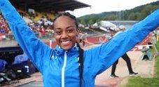 Atletica, la favola di Larissa: oro agli Europei come mamma Fiona