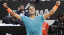 Nadal re di Roma per la nona volta: Djokovic si arrende in tre set