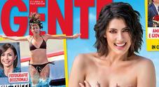 Elisa Isoardi in topless risponde alle critiche sul peso: «Mi vedo più donna»