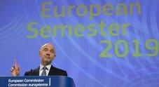 Ue boccia manovra Italia: verso procedura per debito eccessivo. Moscovici: dialogo indispensabile