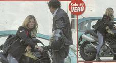 Maddalena Corvaglia ex velina su due ruote, pit stop per i baci con il fidanzato Alessandro Viani