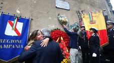 Napoli, de Magistris commemora Giancarlo Siani: «Lotta alle mafie ancora a rilento»