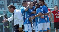 Doppietta di Insigne e gol di Verdi: il Napoli strapazza il Torino 3-1