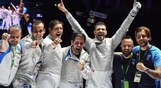 Mondiali, Italsciabola di bronzo con il napoletano Curatoli