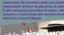 Napoli, pizzo agli ambulanti di Scampia: la denuncia del sindacato inquilini