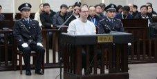 Immagine Canadese condannato a morte in Cina