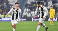 La Juve passeggia sul Frosinone: 3-0 e bianconeri a +14 sul Napoli