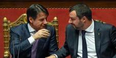 Immagine Conte sfida Salvini: «Ministro delle assenze»