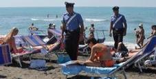 Immagine Violenta due turiste sulla spiaggia: fermato