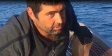 Immagine Il pescatore sopravvissuto: «40 ore in mare da solo»