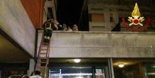 Immagine Incendio nel palazzo: due morti in Emilia