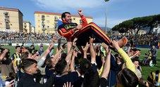La Juve Stabia vince 2-1 e vola in B, è festa grande a Castellammare