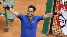 Montecarlo, splendido Fognini: travolge Nadal e vola in finale