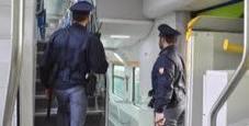 Immagine Latitante in viaggio arrestato sul treno
