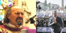 Immagine «Prete attacca Salvini», e in chiesa è protesta
