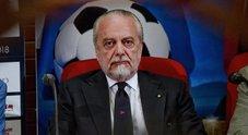 Serie A in Cina, De Laurentiis scettico: «Ad agosto giochiamo in Europa»