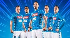Napoli, ecco la nuova maglia con tema «pantera» | Video