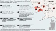 Rifiuti, la sfida della Regione Campania: «Ecco i sette siti di stoccaggio, dialogo con i sindaci»