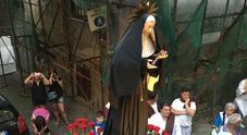 Fede e tradizione nei Quartieri, torna la processione di Santa Rita