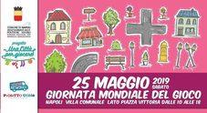 In villa comunale la Giornata mondiale del gioco è per tutti: da 0 a 99 anni