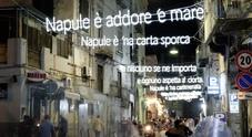 «Napule è», ecco l'opera luminosa dedicata a Pino Daniele nel Rione Sanità
