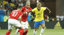 Mondiali/ Brasile-Svizzera 1-1: Coutinho non basta, la Seleçao conquista solo un punto