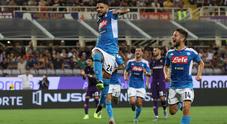 Live Fiorentina-Napoli 2-3: Callejon, è un colpo di biliardo!