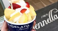 Mennella lancia il nuovo frozen yogurt alla frutta di stagione