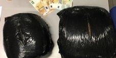 Immagine Tre chili di marijuana nello zaino, arrestato