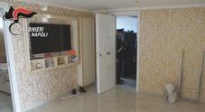 Napoli, ecco l'attico del boss del Parco Verde: sequestrate armi e droga