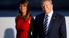 «Trump e Melania hanno litigato». Grande festa per Mattarella, ma lei non c'è