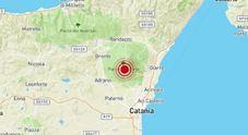 Sciame sismico sull'Etna: sedici scosse in un'ora