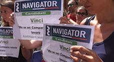 Napoli, i Navigator in protesta Ma De Luca: «Non cambio idea»