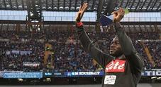 Koulibaly, festa nella vittoria: «Che emozione i vostri applausi»
