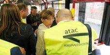 Immagine Turisti russi aggrediscono controllori del bus a Roma