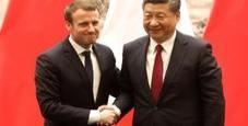 Immagine Aeronautica e nucleare, le intese tra Xi e Macron