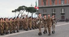 Napoli, giurano 84 nuovi allievi della Nunziatella: «Viva l'Italia»