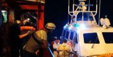 Immagine Ocean Viking, 82 migranti sbarcati a Lampedusa