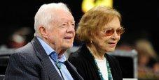 Immagine Jimmy Carter cade ancora: nuova frattura del bacino
